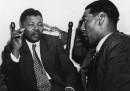 Nelson Mandela e C Andrews