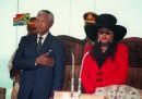 Nelson Mandela e Zinani