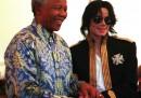 Nelson Mandela e Michael Jackson
