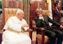 Nelson Mandela e Giovanni Paolo II