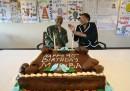 Nelson Mandela e Graca Machelnel