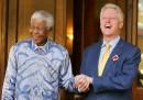 Nelson Mandela e Bill Clinton