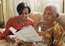 Nelson Mandela e Michelle Obama