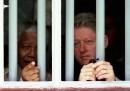 Bill Clinton e Nelson Mandela