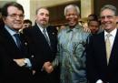 Mandela, Castro, Prodi e Cardoso