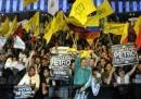 Le manifestazioni per il sindaco di Bogotà