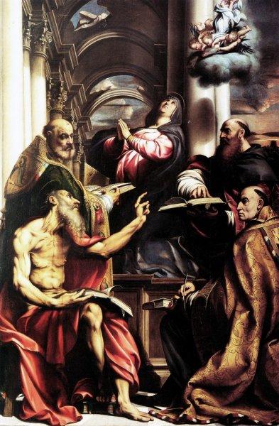 Questo è il Pordenone. L'anoressico che pesta un libro è senz'altro Girolamo, ma gli altri, mah, potrei sbagliarmi.