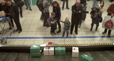 La sorpresa natalizia di una compagnia aerea canadese