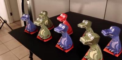 Il T-Rex ti guarda sempre