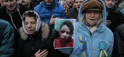 L'aggressione di due attivisti in Ucraina