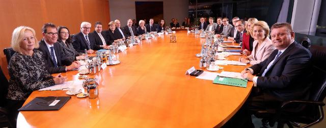 Il nuovo governo della Germania