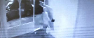 Il video del furto di due stampe di Damien Hirst, a Londra