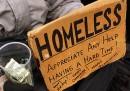 I cartelli dei senzatetto di New York
