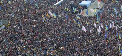 Un'altra enorme manifestazione a Kiev