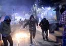 La notte di protesta a Istanbul