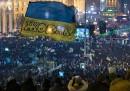 La notte a Kiev, dopo l'accordo con Putin