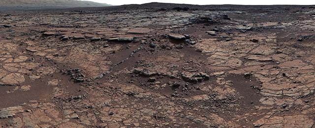 Lago su Marte - Curiosity