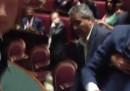 La protesta del M5S alla Camera