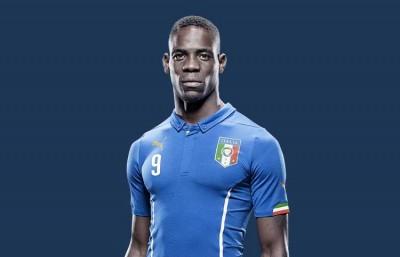 La maglia dell'Italia ai Mondiali 2014