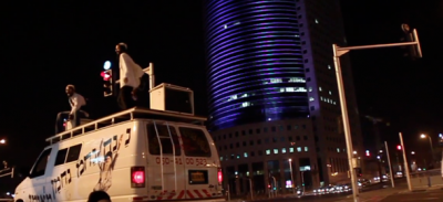 I rabbini dance di Tel Aviv