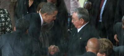 Le strette di mano tra Cuba e Stati Uniti
