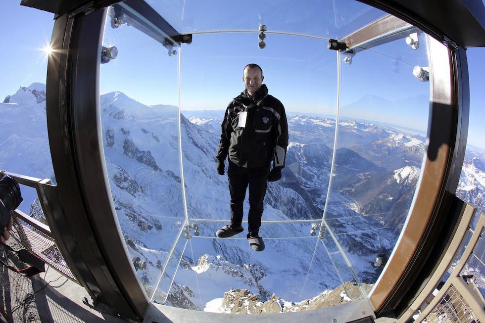 Il Passo Nel Vuoto Sul Monte Bianco Foto Il Post