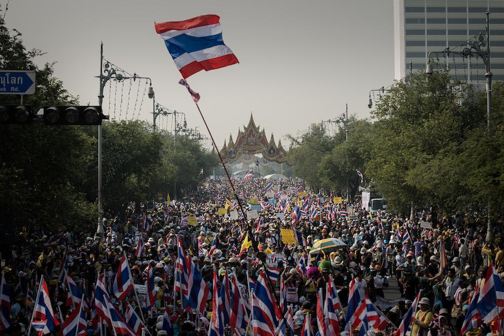 Proteste contro il governo in Thailandia
