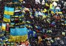 """La """"marcia di un milione"""" a Kiev"""