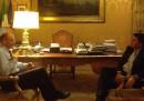 Napolitano: «Mi pare che sul governo ora la parola passi al PD»