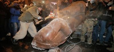La storia della statua di Lenin di Kiev