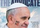 """Papa Francesco è la persona dell'anno per la rivista gay """"The Advocate"""""""