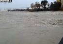 Le forti piogge nel nord Italia