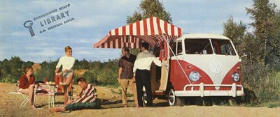 Le vecchie pubblicità del Volkswagen T2