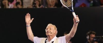Federer contro Laver, alla Rod Laver Arena