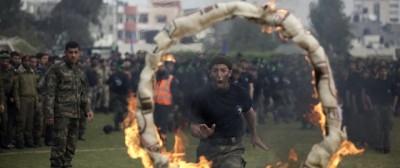 L'addestramento di Hamas a Gaza – foto