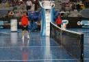 La pioggia agli Australian Open – foto