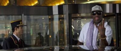 Dennis Rodman a Pyongyang
