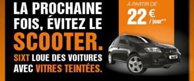 Le pubblicità degli autonoleggi su Hollande