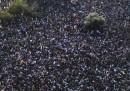 La protesta dei migranti africani in Israele