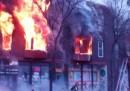 L'esplosione in un edificio a Minneapolis