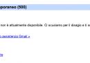 Gmail funziona, dopo oltre un'ora di disservizi
