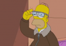 I Simpson con i Google Glass