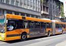 Gli autobus di Milano