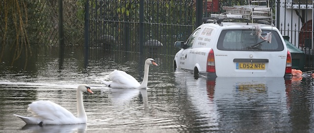 Severe Flood Warnings In Place For The UK