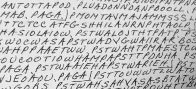 Il vecchio messaggio in codice risolto su Internet in 15 minuti