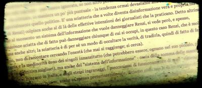 """""""La tendenza devastante alla sciatteria del giornalismo italiano"""""""
