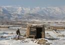 Fotografie dall'Afghanistan, con la neve