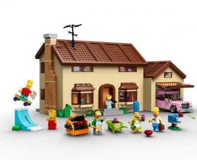 """I Simpson"" in versione LEGO"