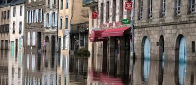 Il brutto tempo nel Nord Europa