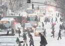 La tempesta di neve negli Stati Uniti
